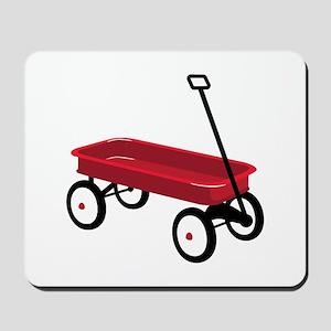 Red Wagon Mousepad