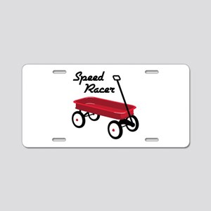 Speed Racer Aluminum License Plate