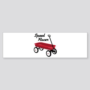 Speed Racer Bumper Sticker