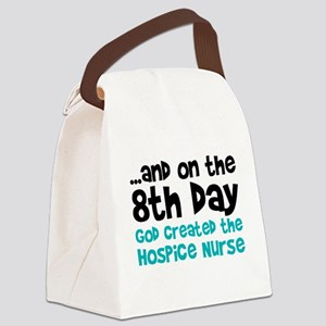 Hospice Nurse Creation Canvas Lunch Bag