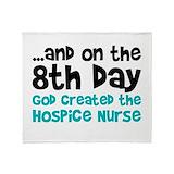 Hospice nurse Fleece Blankets