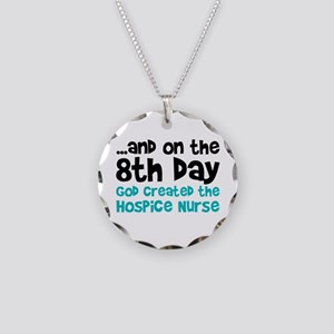Hospice Nurse Creation Necklace Circle Charm