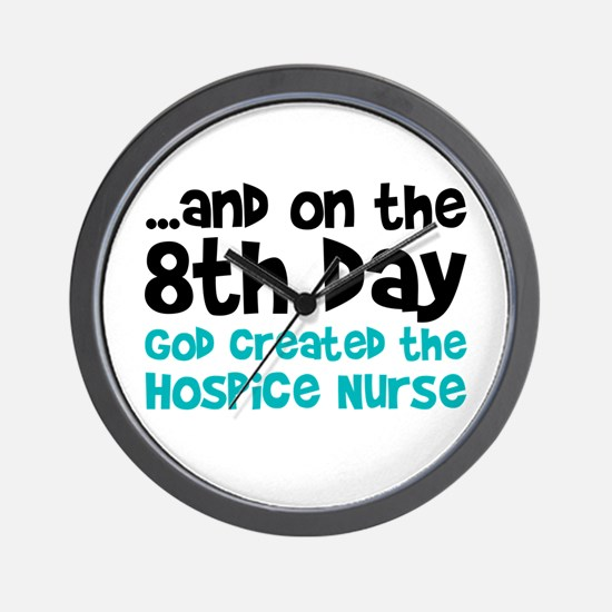 Hospice Nurse Creation Wall Clock