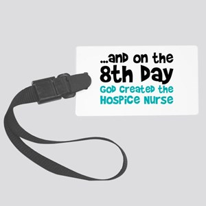 Hospice Nurse Creation Large Luggage Tag