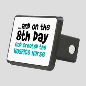 Hospice Nurse Creation Rectangular Hitch Cover
