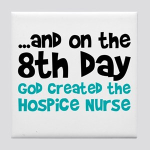 Hospice Nurse Creation Tile Coaster