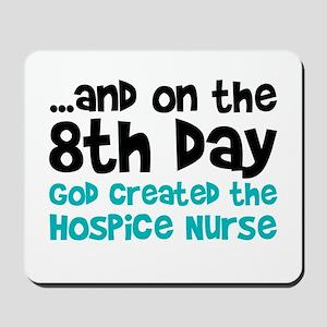 Hospice Nurse Creation Mousepad