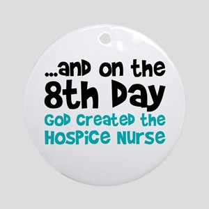 Hospice Nurse Creation Ornament (Round)