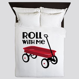 ROLL WiTH Me Queen Duvet