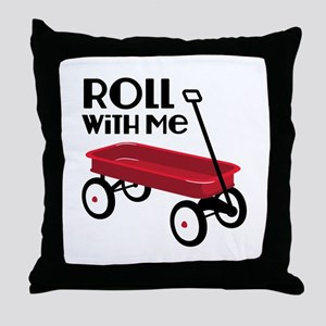ROLL WiTH Me Throw Pillow