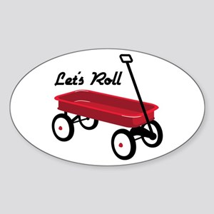 Lets Roll Sticker