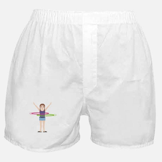 Hula Hooping Boxer Shorts