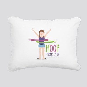 HOOP There It Is Rectangular Canvas Pillow