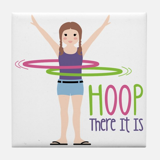 HOOP There It Is Tile Coaster
