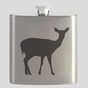 Deer Doe Flask