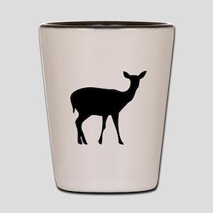 Deer Doe Shot Glass
