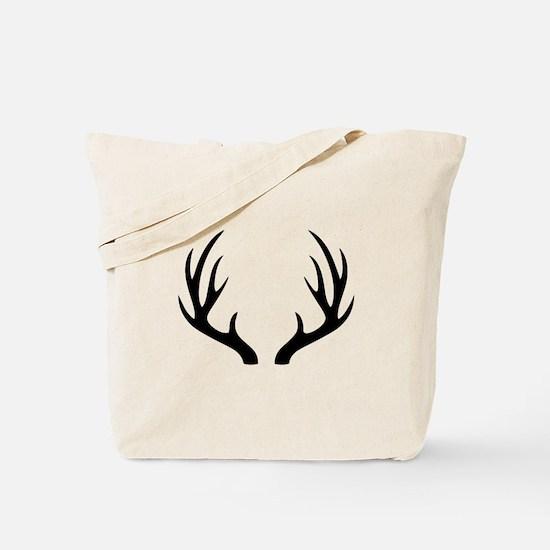 12 Point Deer Antlers Tote Bag