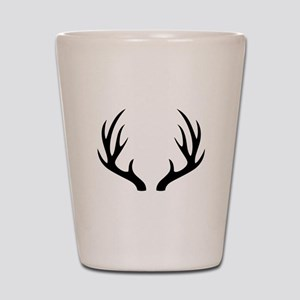 12 Point Deer Antlers Shot Glass