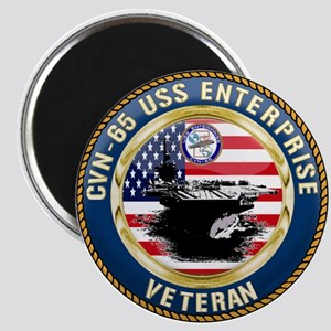 CVN-65 Enterprise Veteran Magnets