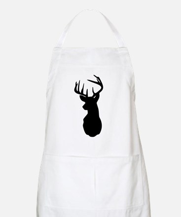 Buck Hunting Trophy Silhouette Apron