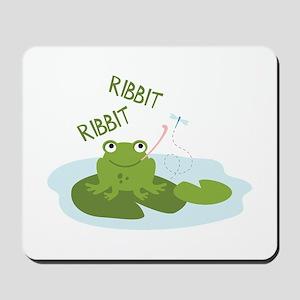 Ribbit Ribbit Mousepad