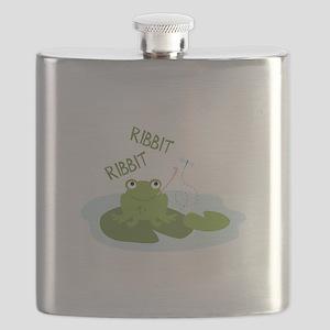 Ribbit Ribbit Flask
