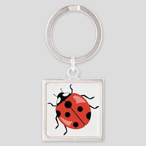 Red Ladybug Keychains