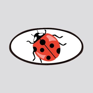 Red Ladybug Patches