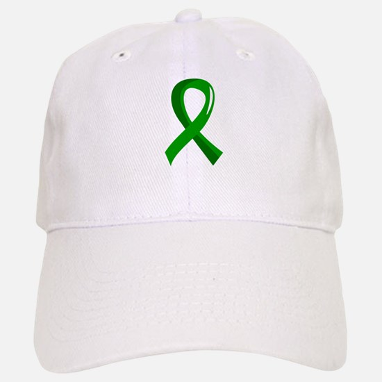 Awareness Ribbon 3 TBI Baseball Baseball Cap