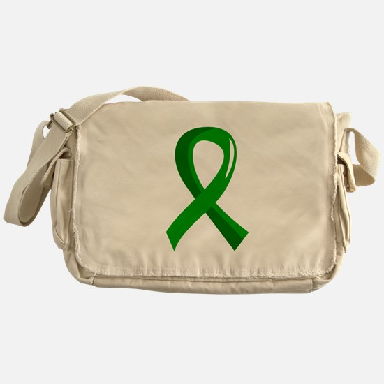 Awareness Ribbon 3 TBI Messenger Bag