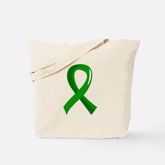 Awareness Ribbon 3 TBI Tote Bag