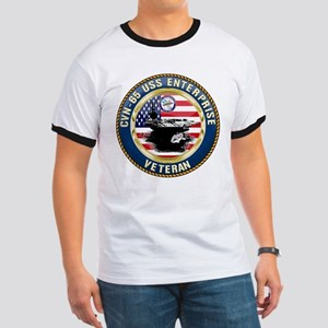 CVN-65 Enterprise Veteran T-Shirt