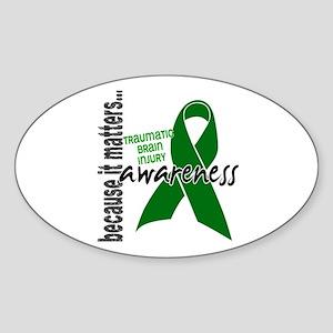 Awareness 1 TBI Sticker (Oval)