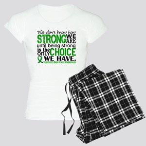 How Strong We Are TBI Women's Light Pajamas
