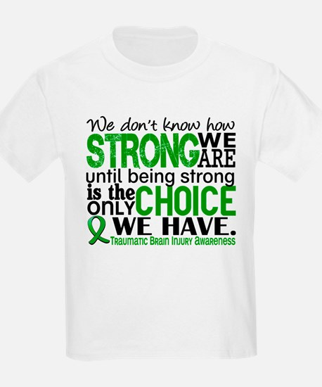 How Strong We Are TBI T-Shirt