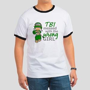 Combat Girl TBI Ringer T