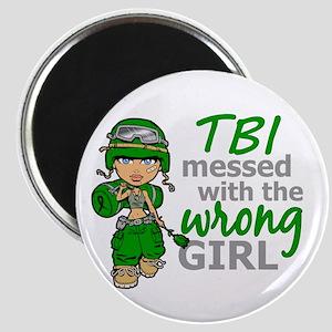 Combat Girl TBI Magnet