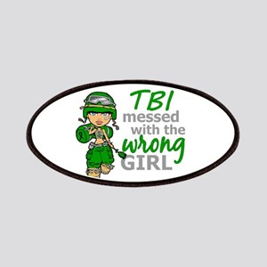 Combat Girl TBI Patches