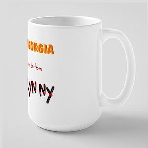 From Brooklyn Ny Large Mug
