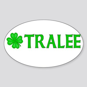 Tralee, Ireland Oval Sticker