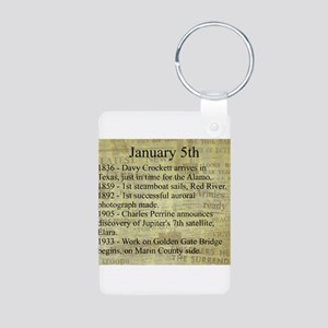 January 5th Keychains