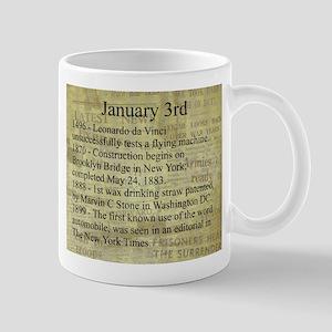 January 3rd Mugs