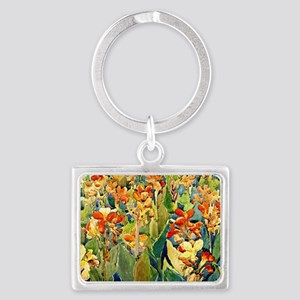 Prendergast - Bed of Flowers Landscape Keychain