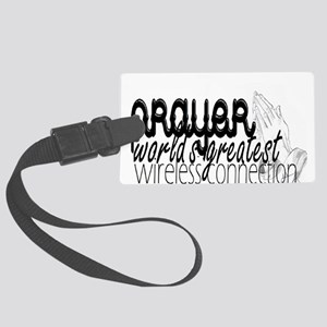 Prayer, wireless connect Luggage Tag