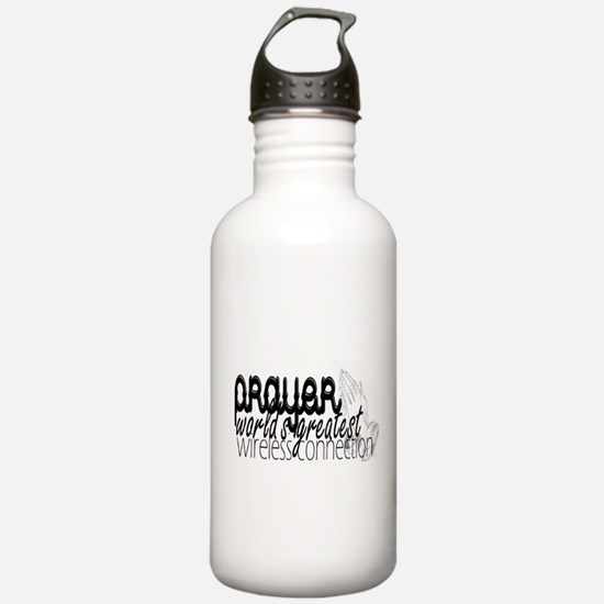 Prayer, wireless connect Water Bottle