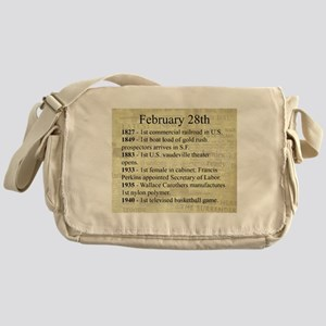 February 28th Messenger Bag
