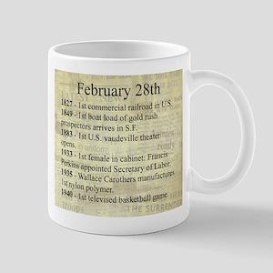 February 28th Mugs