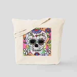 dia de los muertos art Tote Bag