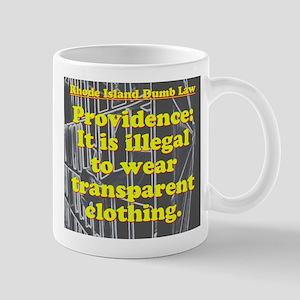 Rhode Island Dumb Law 006 Mugs