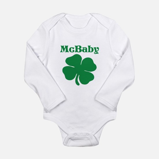McBaby Shamrock Body Suit